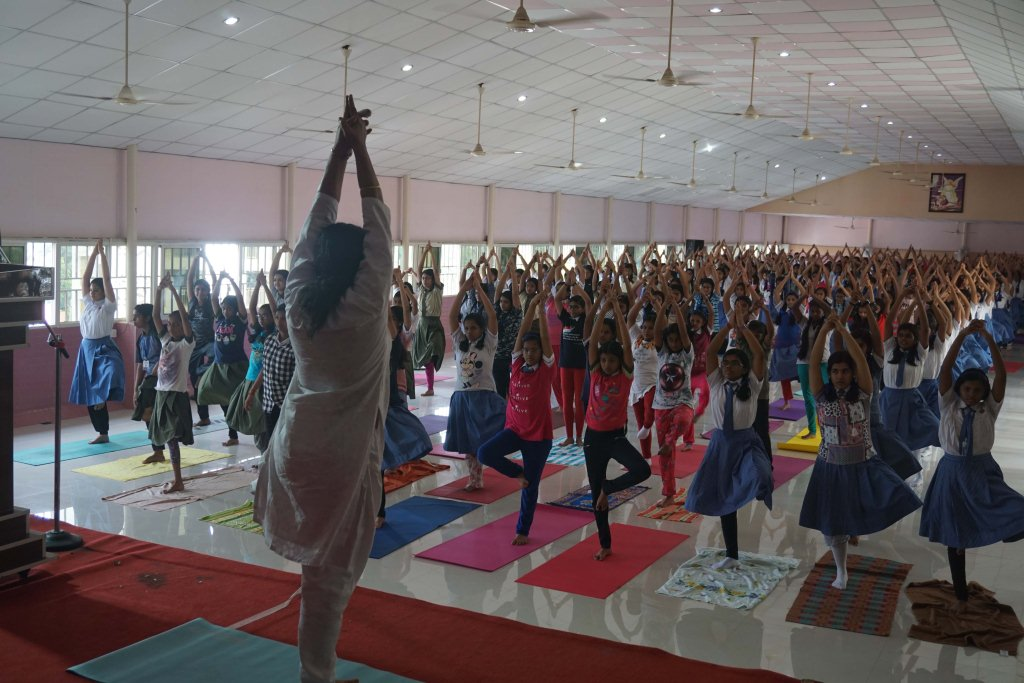 WORLD YOGA DAY 2019-20